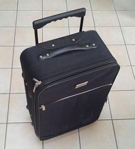 une magnifique valise comme on en voit partout