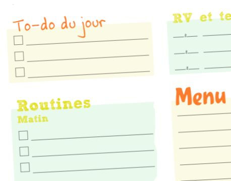 Menus archives listolabo - Organisation m u00e9nage quotidien ...