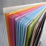 l'arc-en-ciel de couleurs de l'agenda Hugo et Cie