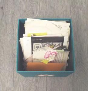 une des mes petites boites à papiers